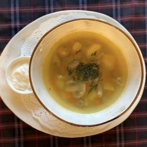 Грибной суп кулеш